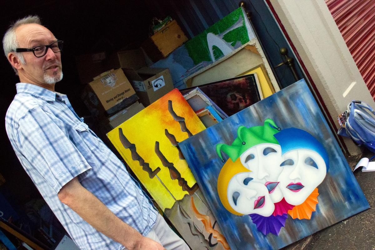 Folk Art Paintings Tucson