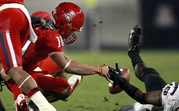 Arizona football: Late fumble a turning point