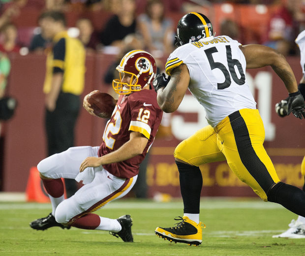NFL NOTEBOOK: Redskins backup QB Cousins injured with Steelers RB Bell