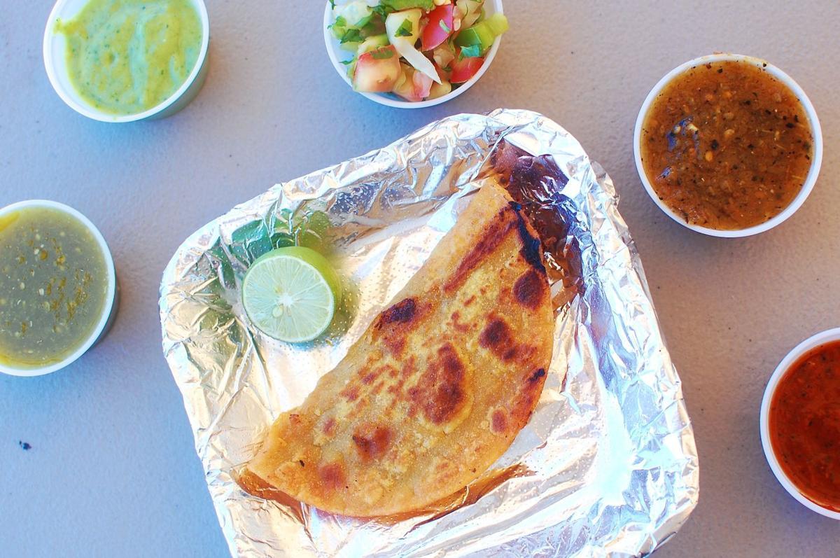 Taco a la Plancha at Tacontento