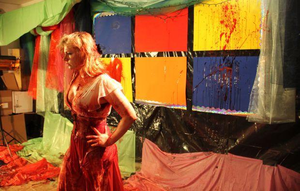 Scream queen Jessica Cameron in 'Truth or Dare'