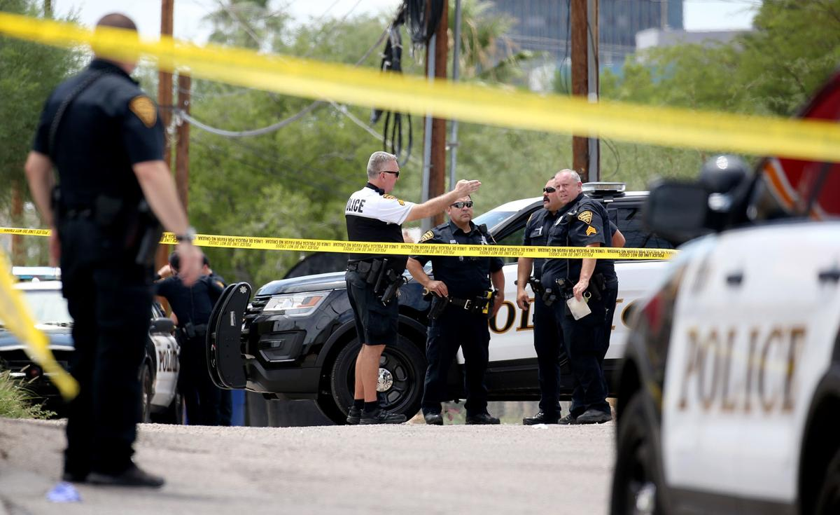 Shooting near Speedway and Sixth Avenue