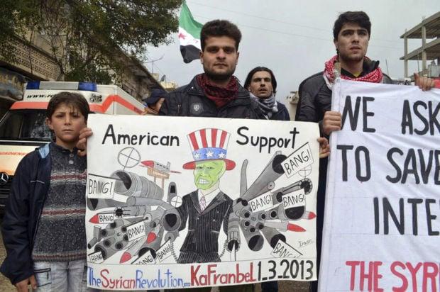 Syrian rebel to US: Send guns, not food