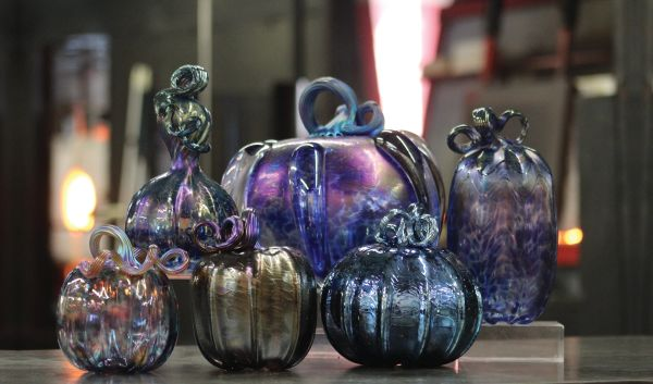 Pumpkin Sonoran Glass school