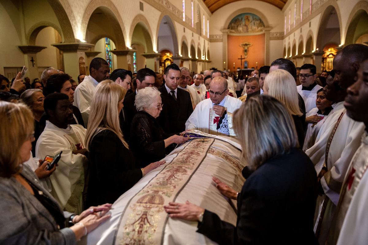 Mass for Father Raul Valencia (LE)