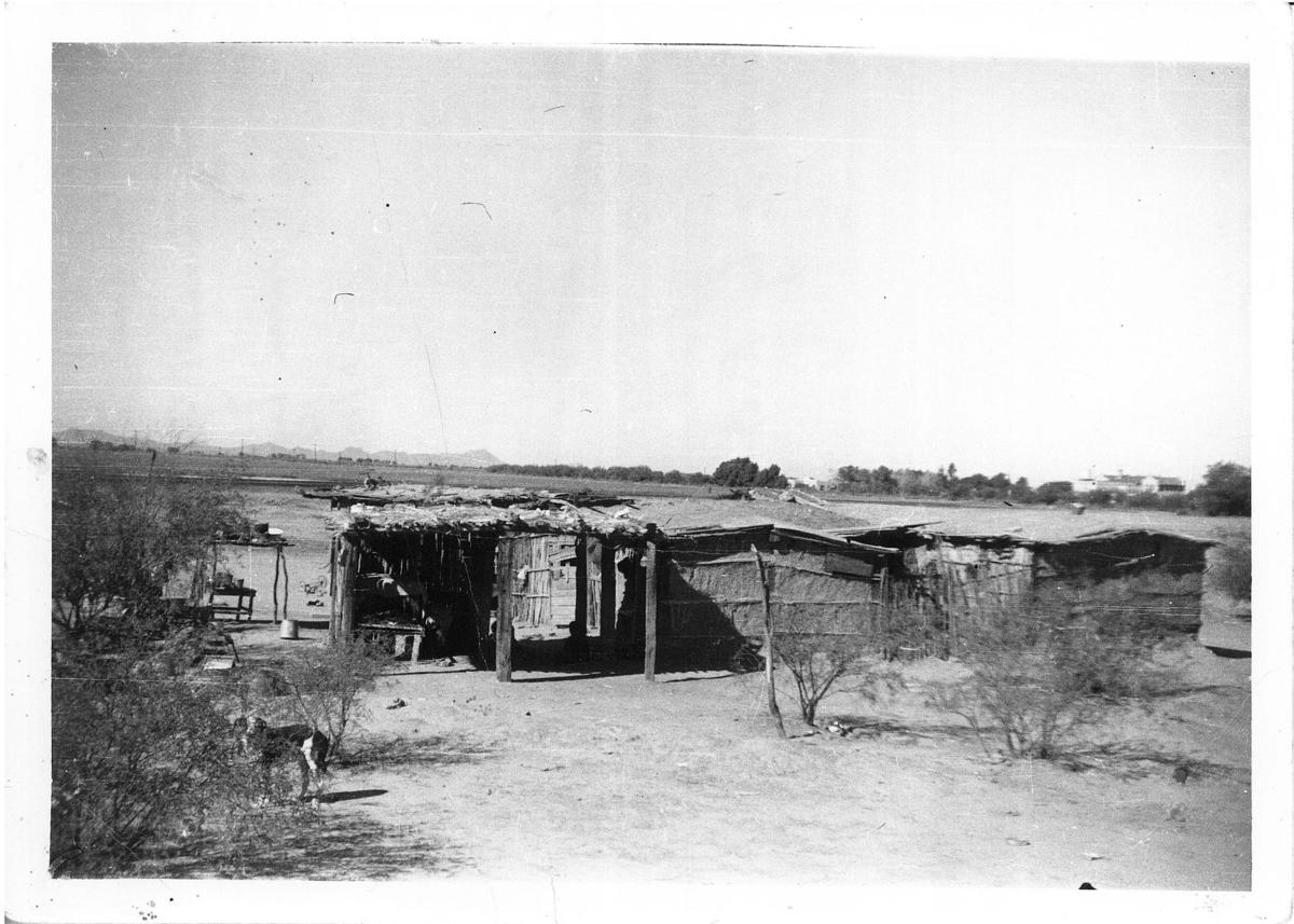 Typical Yoeme home in 1936