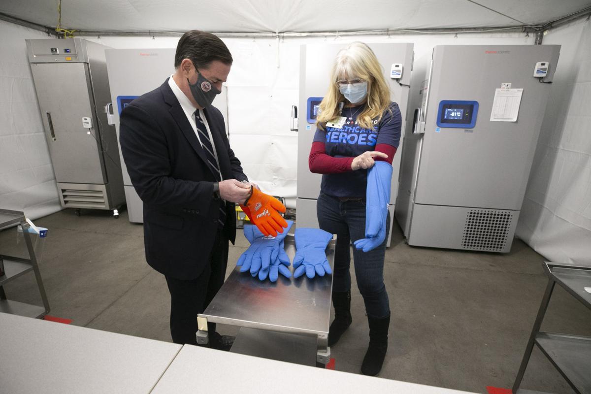 Virus Outbreak Arizona Vaccine