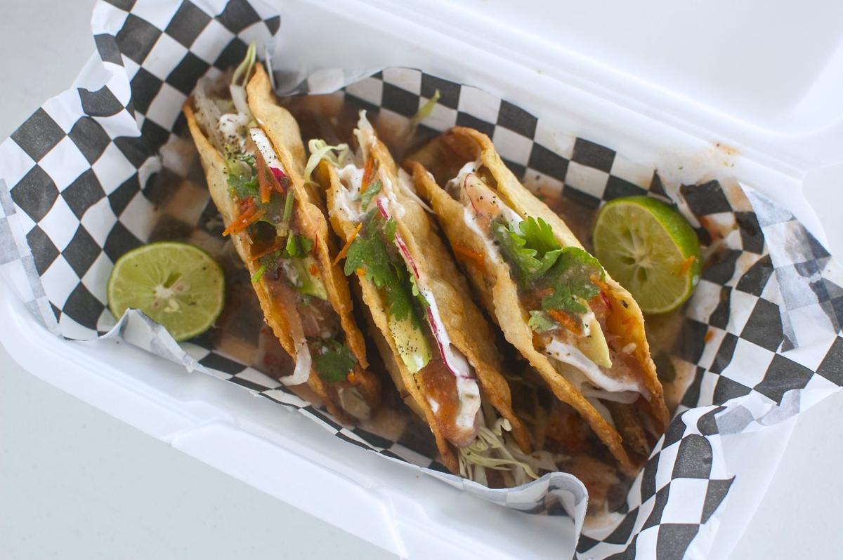 Tacos at The Happy Tummy