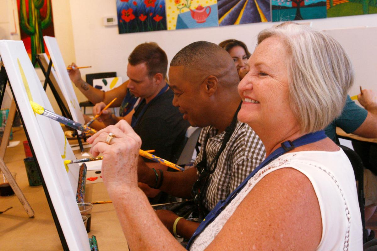 Paint And Sip The Night Away Tucson Com