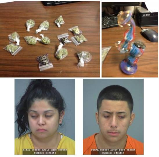 Traffic stop ends in arrests for Pinal County teens