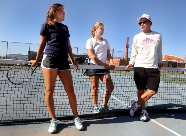 Rincon High School girls tennis