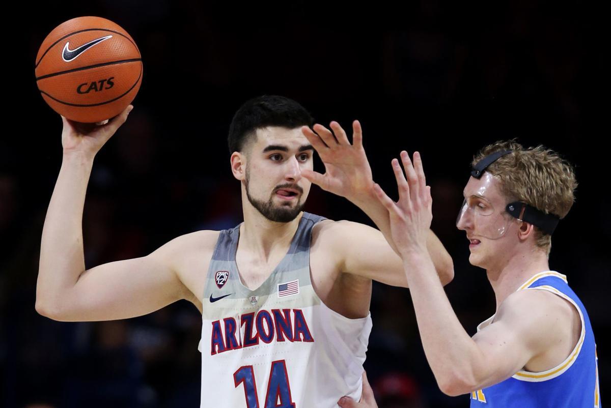 No. 13 Arizona Wildcats vs. UCLA Bruins college basketball