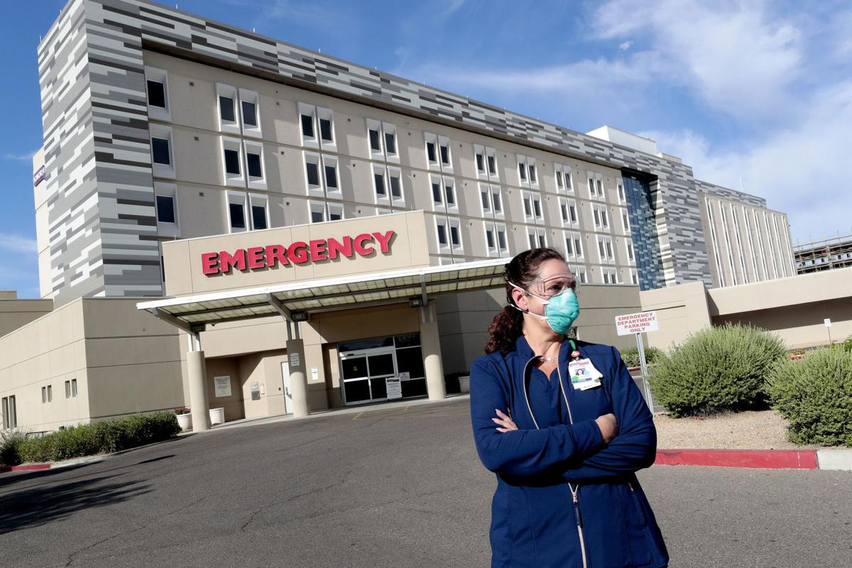 Nurses, doctors feel strain as the coronavirus races through Arizona