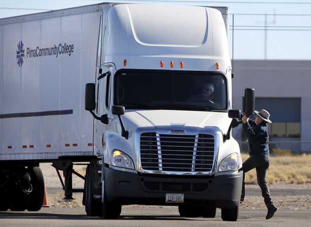 Pima College, Tucson schools train students for jobs as much-needed truck-drivers