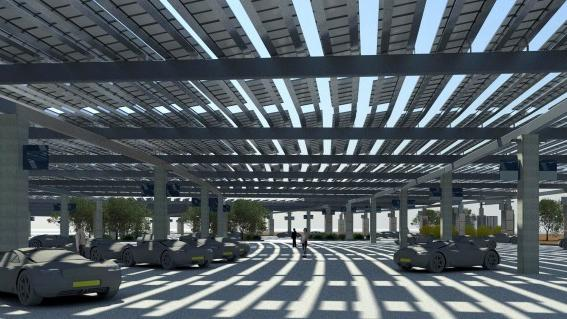 Solar Panels To Provide Lots Of Cool Shady Airport