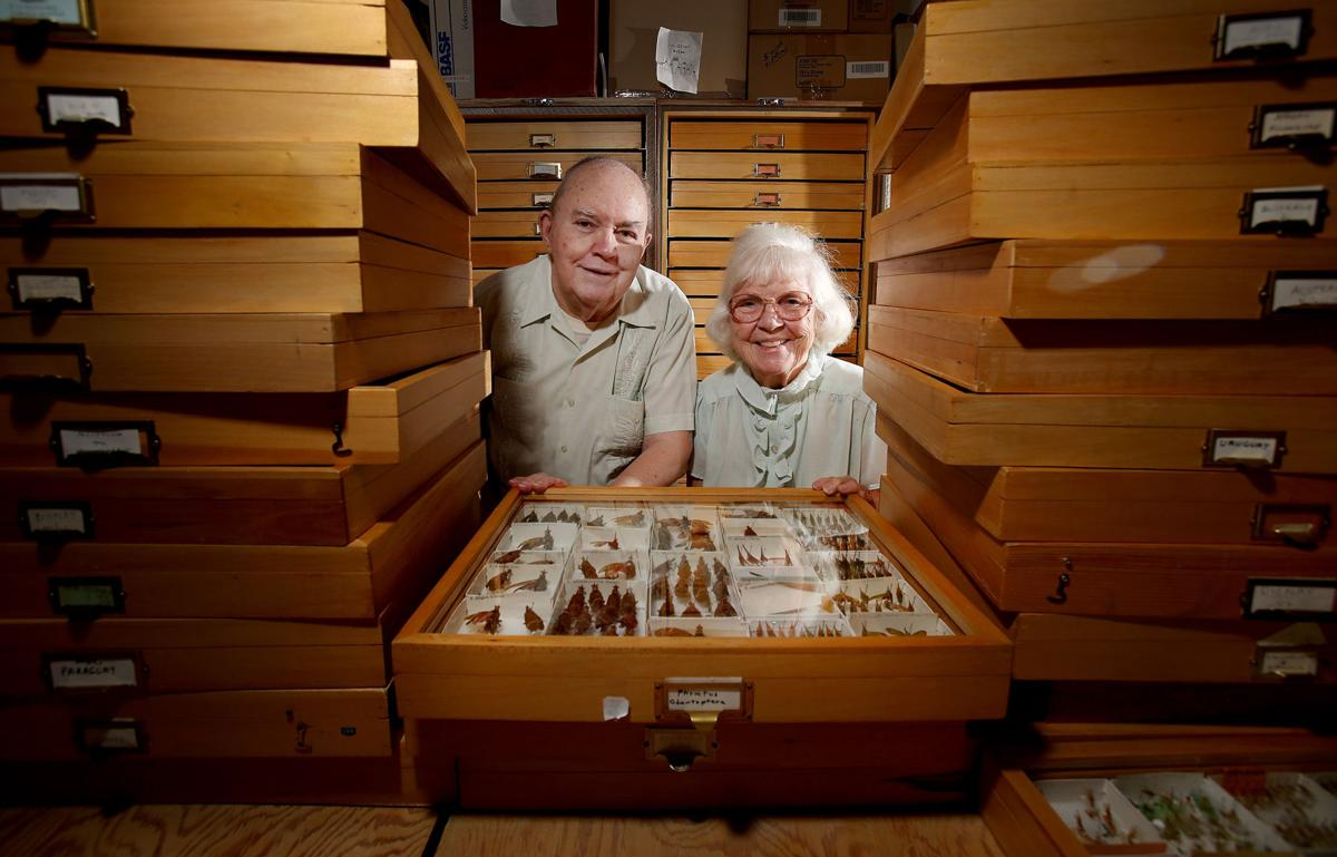 Entomologists Charlie and Lois O'Brien