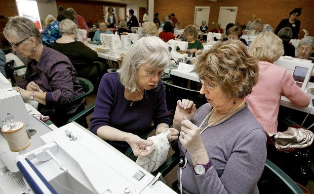 Groups unite to make, give out 'chemo caps'