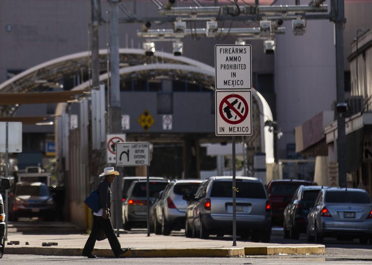 U.S. – Mexico border near Nogales, Ariz. (copy)