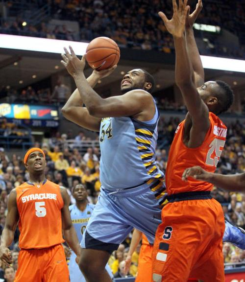 Top 25: Marquette center sinks Syracuse