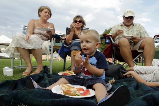 Fun, family, fundraising are focus of picnic