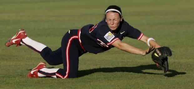Speedy softball star won 2 NCAA titles, silver