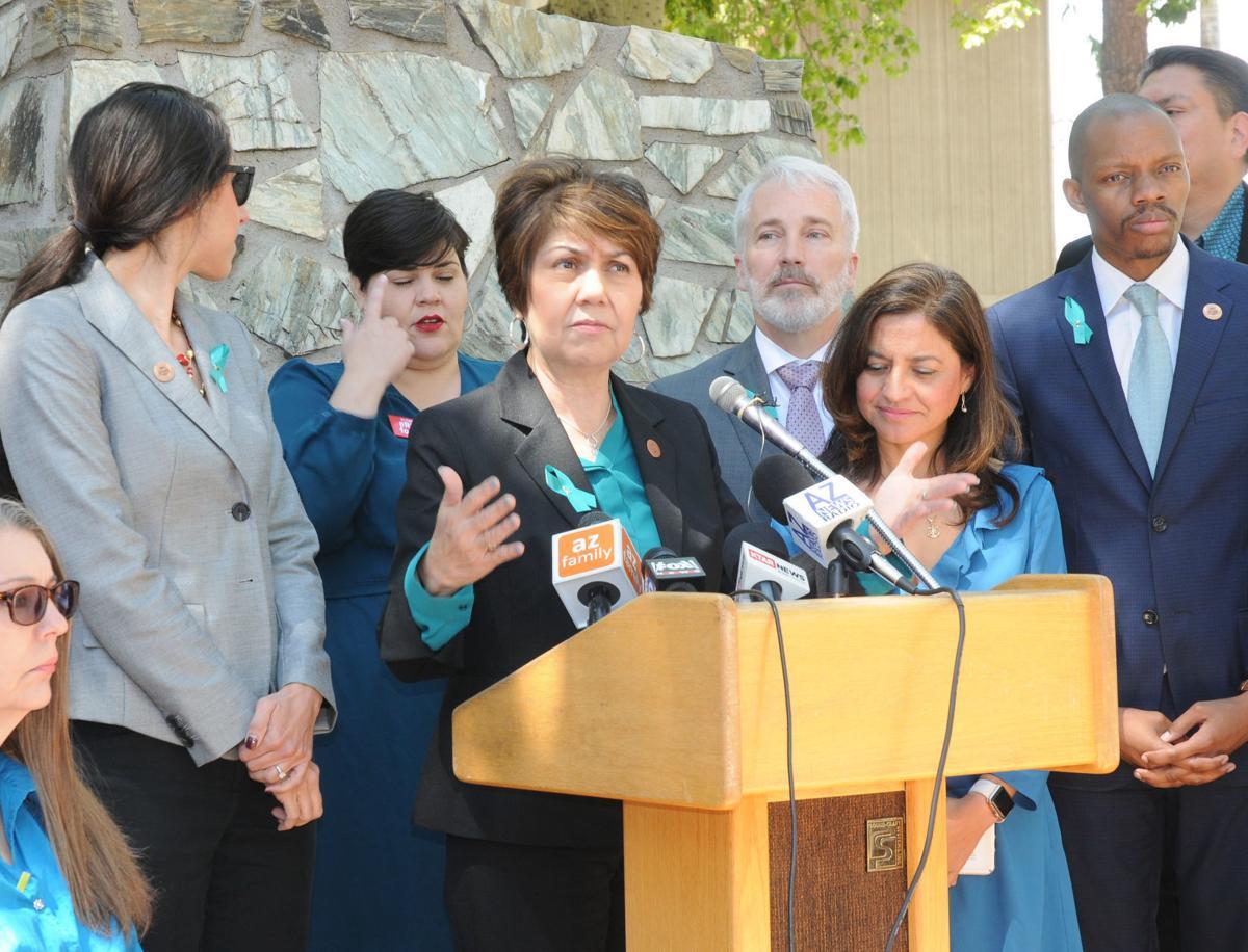House Minority Leader Charlene Fernandez