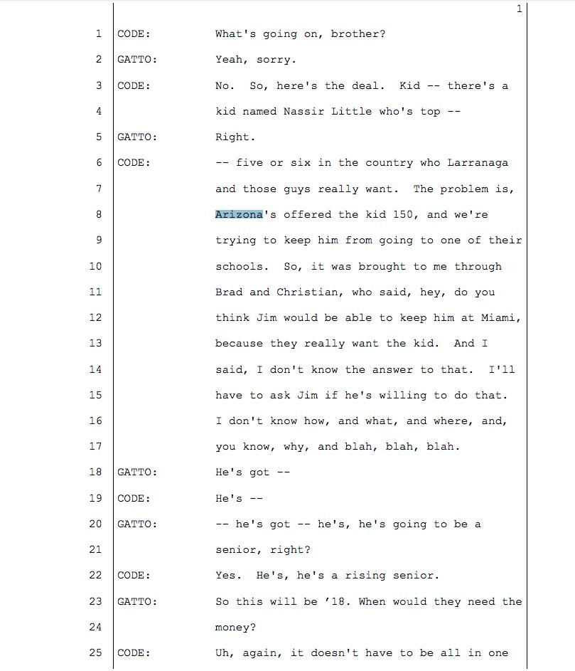 FBI college basketball wiretaps