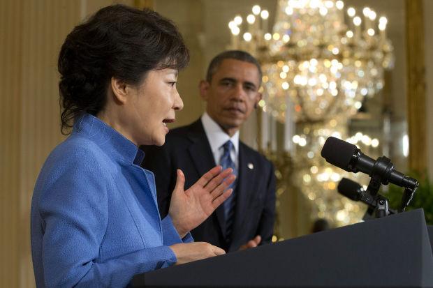 Obama, S. Korea leader present united front on North's threats