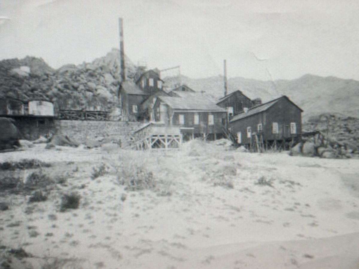 Arizona yavapai county yarnell - The Mill At The Alvarado Mine As It Appeared In 1907 Courtesy Of Arizona Geological Survey