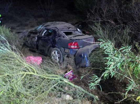 6 teens injured in grad-night wreck east of Tucson