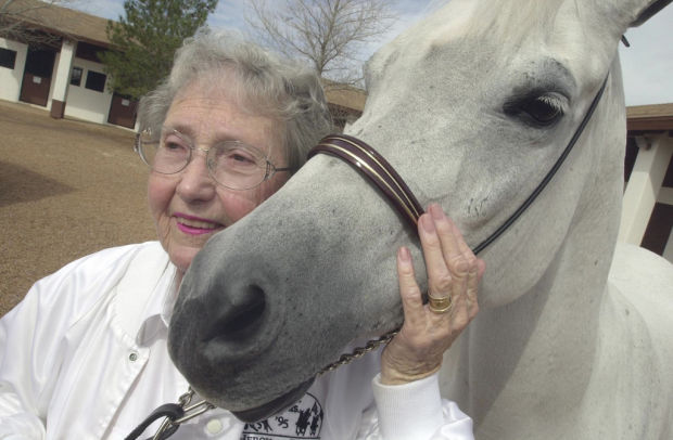 Horse breeder 'Bazy' Tankersley, of Al-Marah Arabians, dies at 91
