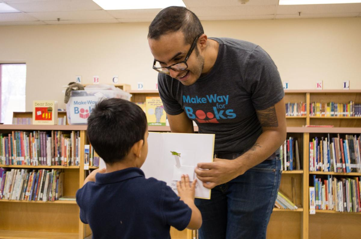 Make Way for Books helps prepare children for success in reading