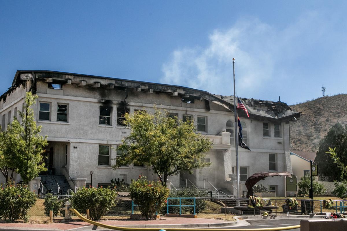 Bisbee City Hall Fire