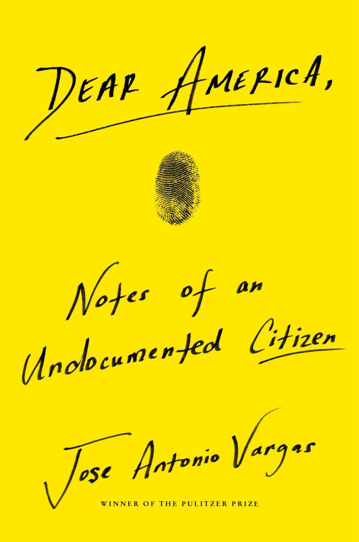 Dear America book cover