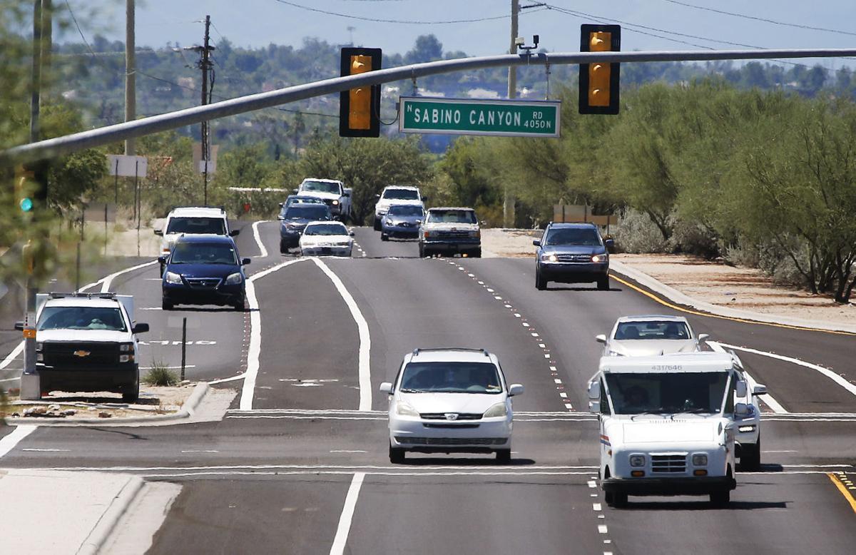 Intersection of Kolb and Sabino Canyon Roads