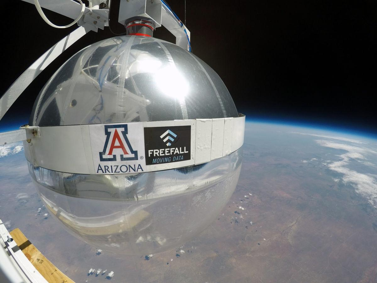 Tucson Tech: NASA balloon test big step for UA antenna ...