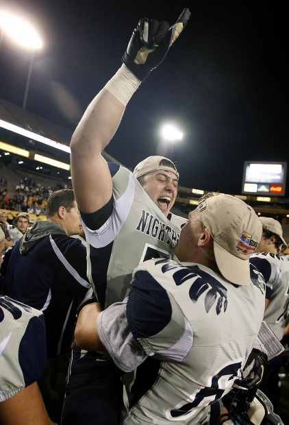 High school football Greg Hansen: Like mentor Friedli, Johnson earns title