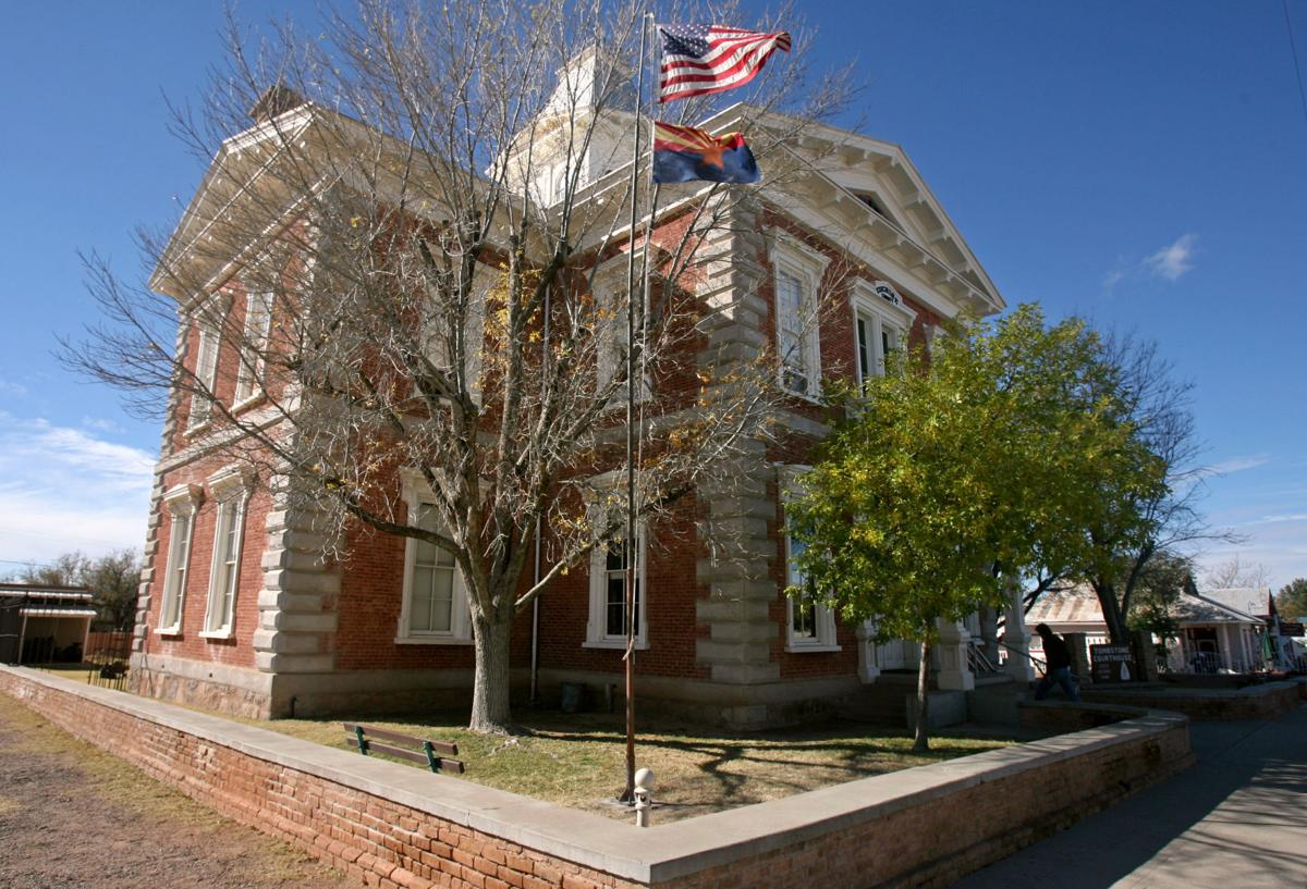 Historic Tombstone courthouse