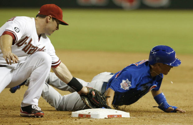 Cubs 4, Diamondbacks 2: D-backs fall out of first