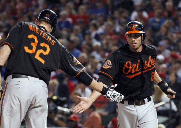 AL wild card: Orioles 5, Rangers 1: Upstart O's still defying the odds