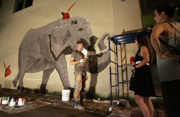 Rialto, Bookmans collide with legal wall over murals