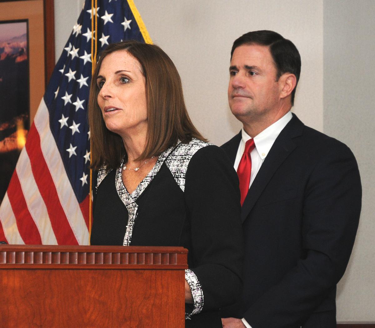 Martha McSally named to Senate