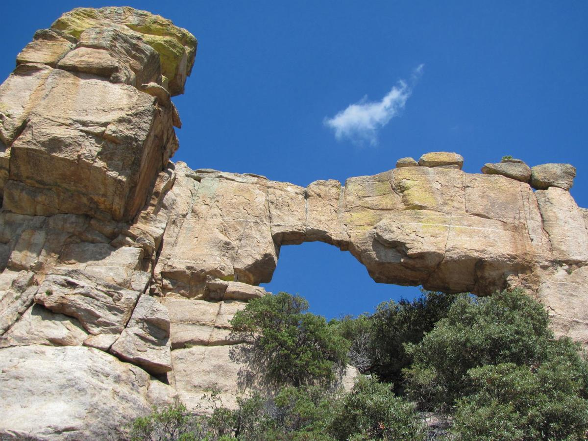 Find spectacular stone arches along Tucson's Catalina Highway