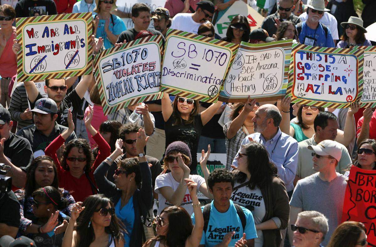 SB 1070 rally