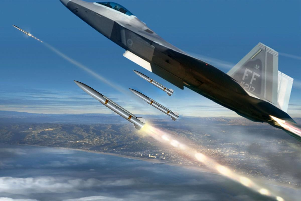 Raytheon unveils new air-to-air combat missile design