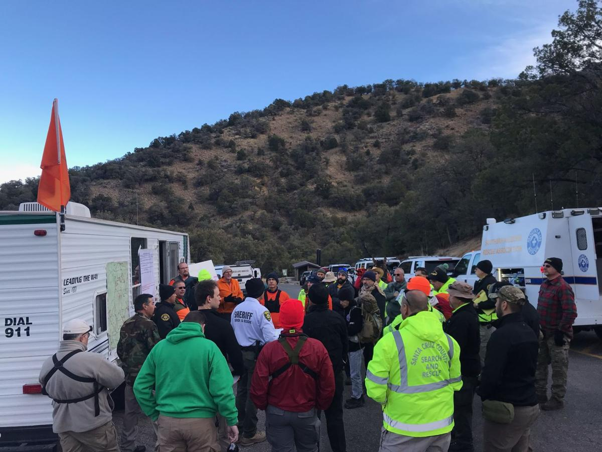 Madera canyon search-and-rescue team