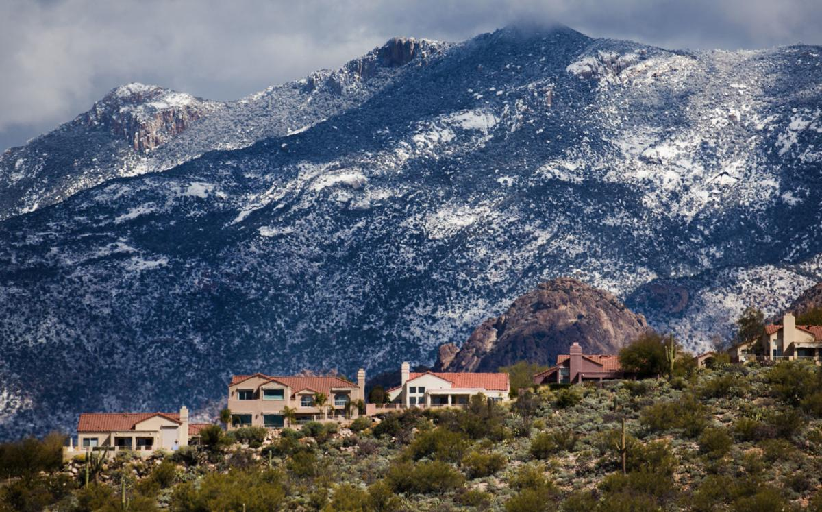 Snow around Tucson