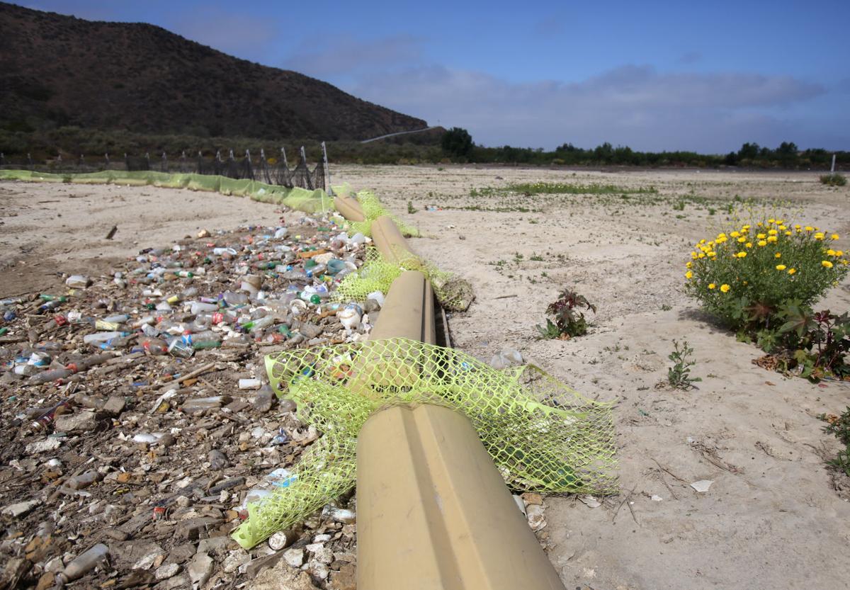 Trash from Tijuana