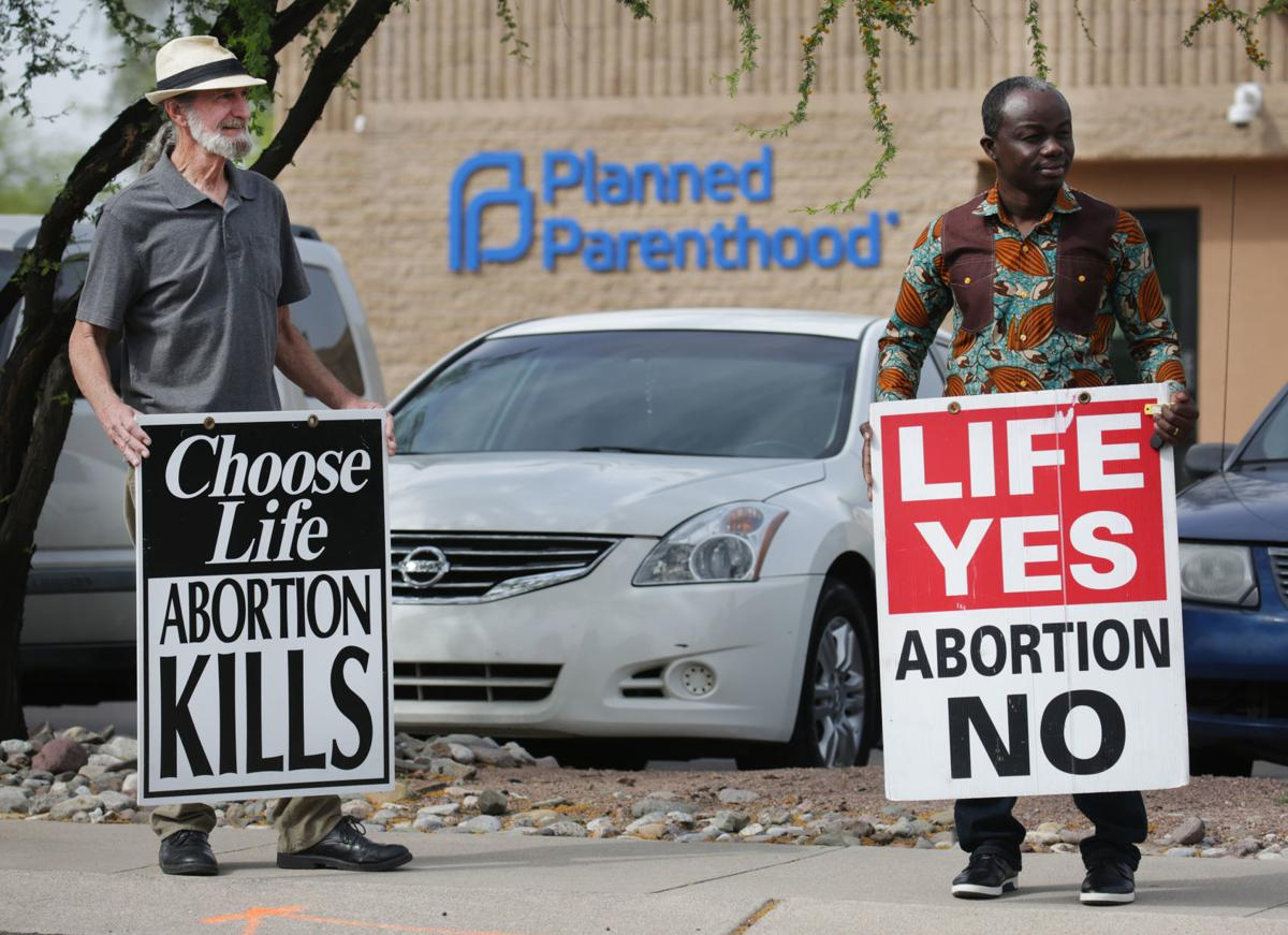 Planned Parenthood opponents