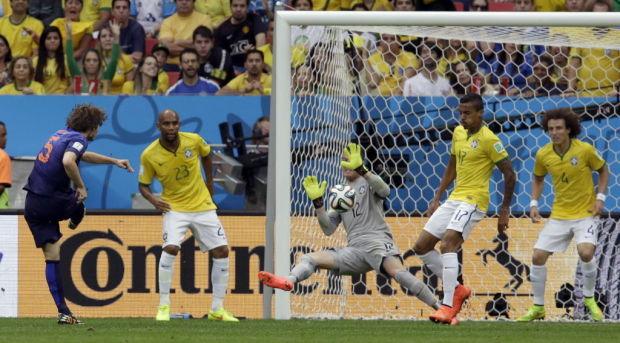 Brazil Soccer WCup Brazil Netherlands